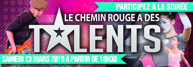 LE CHEMIN ROUGE A DES TALENTS