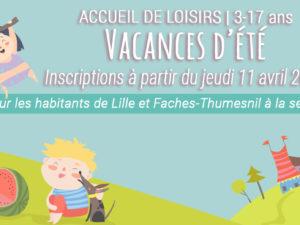 ACCUEIL DE LOISIRS | ÉTÉ 2019