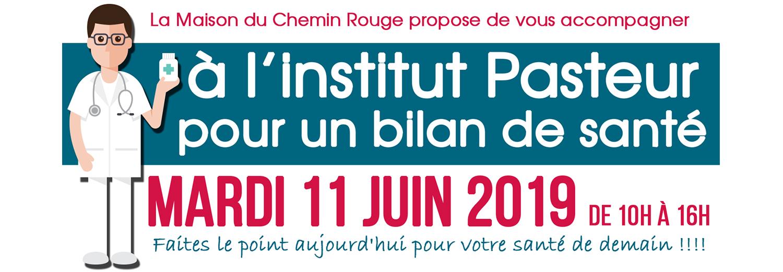 Bilan de santé à l'institut Pasteur
