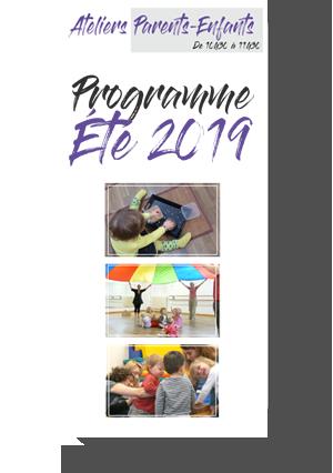 Ateliers Parents Enfants Été 2019