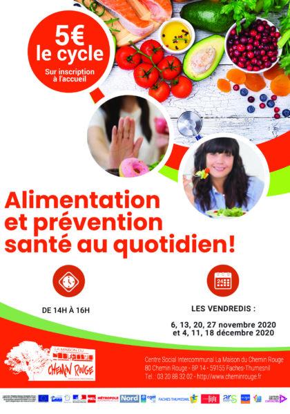 Alimentation et prévention santé au quotidien