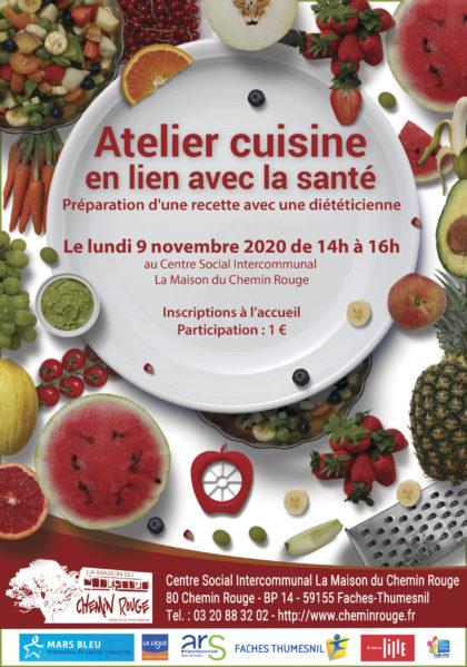 Atelier cuisine en lien avec la santé