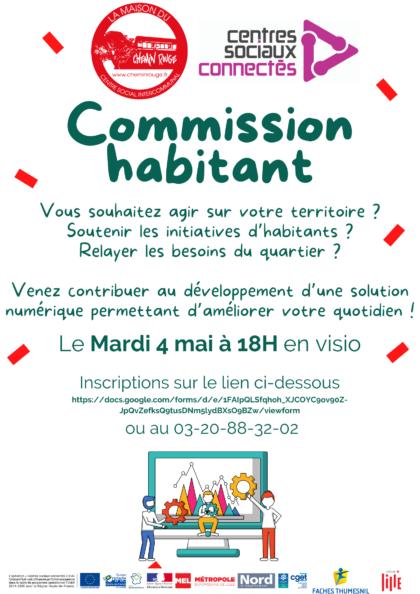 Commission habitant